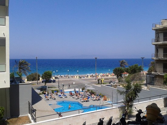 Kipriotis Hotel Rhodes: View from the bar terrace