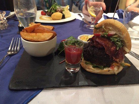 Longford, Ιρλανδία: Beef Burger