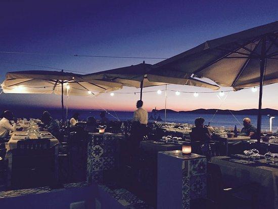 terrazza panoramica by night - Foto di La Barcaccia, Alghero ...