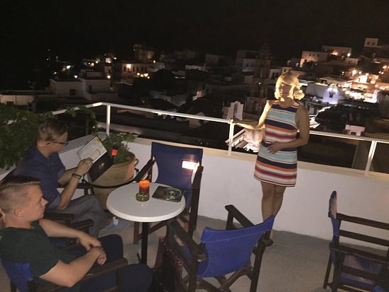 Sensimar Lindos Bay Resort & Spa: View from Lindos By Night bar