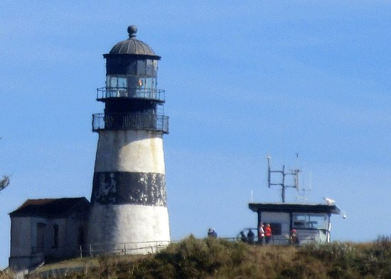 Ilwaco, WA: Cape Disappointment Lighthouse, Columbia River, Washington