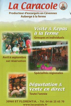 Saint-Florent-sur-Auzonnet, France : Ferme La Caracole