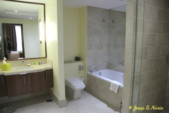 Ramada Downtown Dubai: Bathroom of the apartment