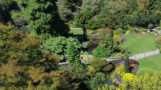 Some of the gardens at Queen Elizabeth Park, Vancouver