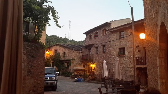 Mura, España: Cenando en el Cal Carte