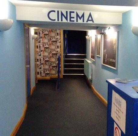Wotton-under-Edge, UK: The foyer leading to the auditorium.