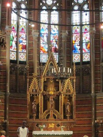 ลุนด์, สวีเดน: Smukt alter og mosaik
