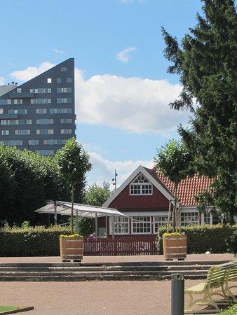Lund, Suecia: Forfriskninger sælges i gammel stil