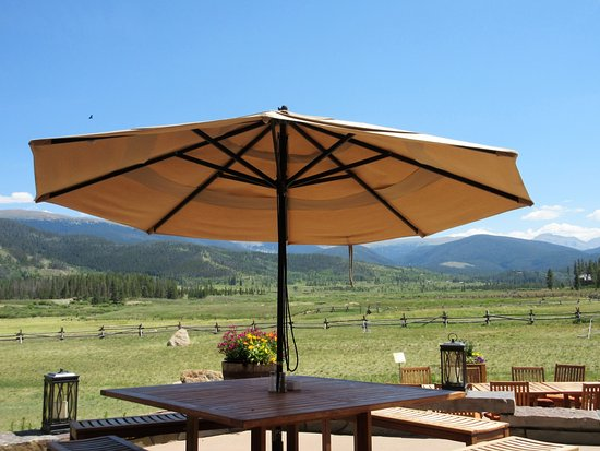 Tabernash, CO: outside seating