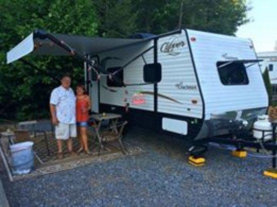 Pine Grove, PA: Our campsite