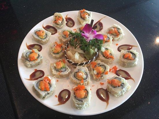Geneva, NY: Sushi is very good.