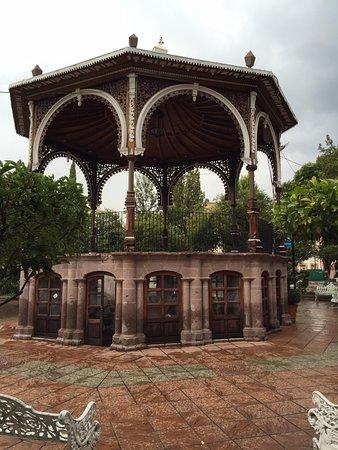 Jerez de Garcia Salinas, Meksika: Que bonito kiosko.