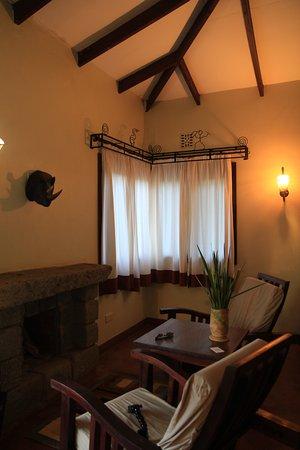 Endoro Lodge : Angolo salotto