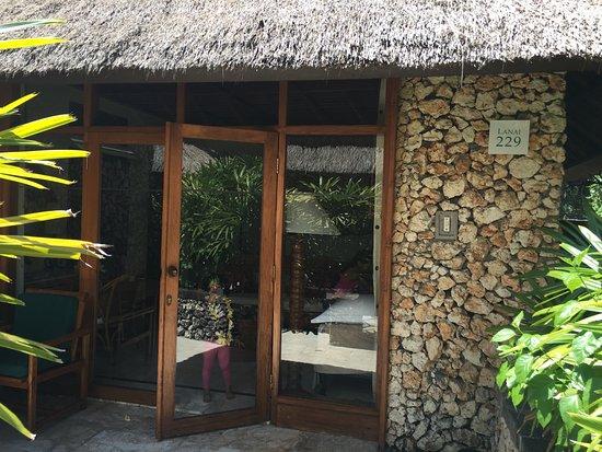 The Oberoi Bali: Entrance to villa