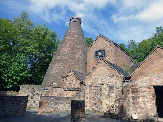 Ironbridge, UK: One of the bottle kilns