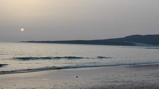 Costa de la Luz, España: Aterdecer con la duna al fondo