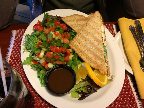 Louisbourg, Canadá: Chicken panini
