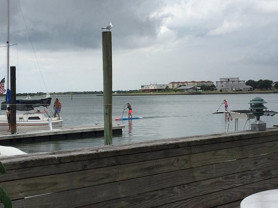 Beaufort, NC: View from outside back deck