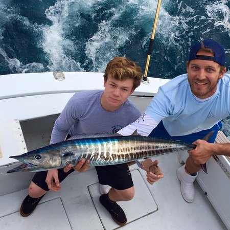 Boynton Beach, Φλόριντα: A pretty Wahoo!