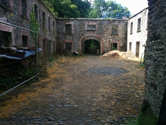 Bantry House & Garden: These are the old stables that have been newly renovated.