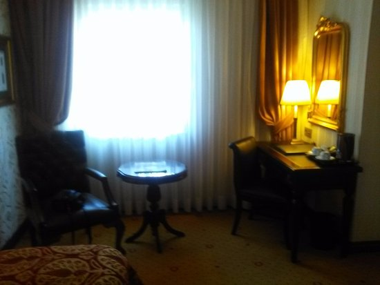 le bureau dans la chambre gordion hotel ankara resmi tripadvisor. Black Bedroom Furniture Sets. Home Design Ideas
