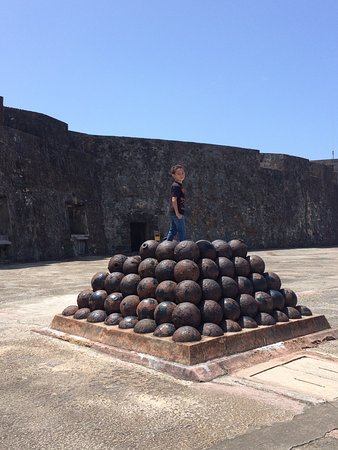 El Morro and San Cristobal, visit both fortresses.