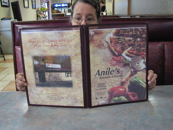 Anile's Ristorante & Pizzeria: Menu