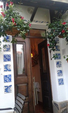 Casa Pinto: Door to the patio
