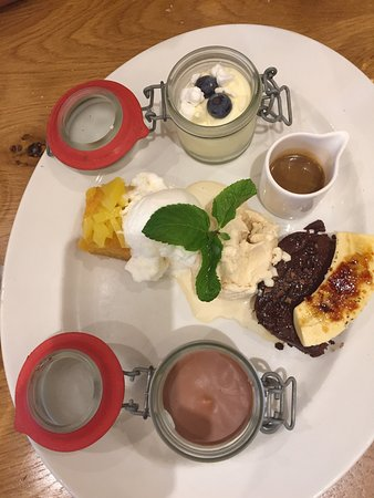 Greenhithe, UK: One of the best deserts I've had.