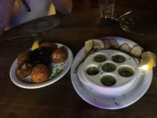 Land O' Lakes, WI: Walleye Balls and Escargot