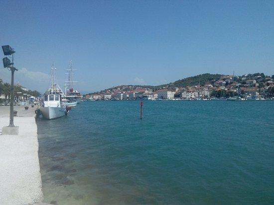 Weltkulturerbestätte Trogir: Torgir harbor
