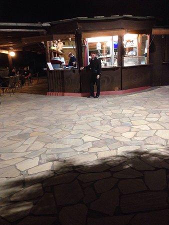 Le terrazze un piano bar all\'aperto - Foto di Hotel Ristorante ...