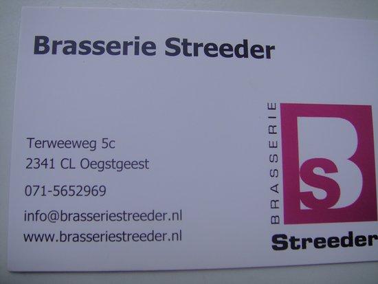 Oegstgeest, Ολλανδία: Het visitekaartje