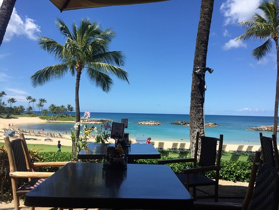 Marriott's Ko Olina Beach Club: Photo from Longboards during brunch.