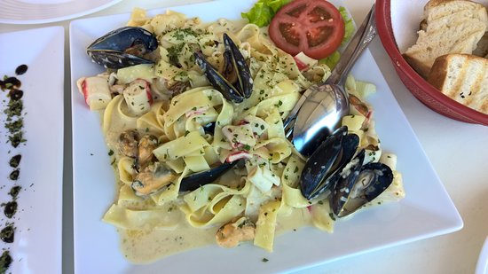 Cervar Porat, Croacia: sea food pasta