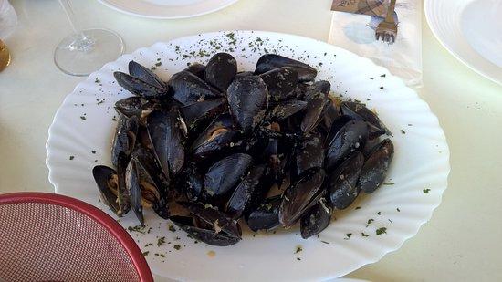 Cervar Porat, Kroasia: mussles