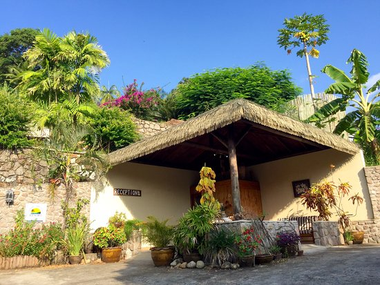 Anse Soleil Resort: La réception