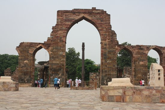 Qutub Minar: Iron Pillar of Delhi