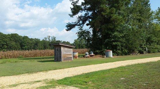 Benson, Carolina do Norte: Scenary near the distilling room