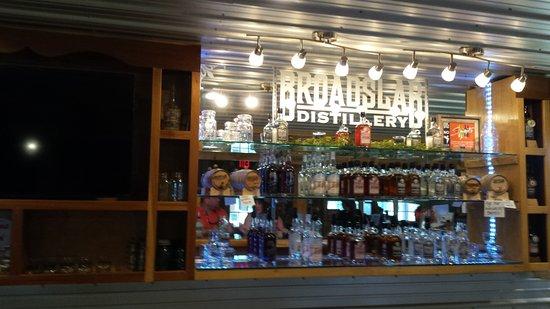 Benson, Carolina do Norte: View from the tasting bar