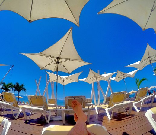 Hilton Puerto Vallarta Resort: So hospitable staff, great place, poolside, beach, food...felt so welcomed, as world traveler I