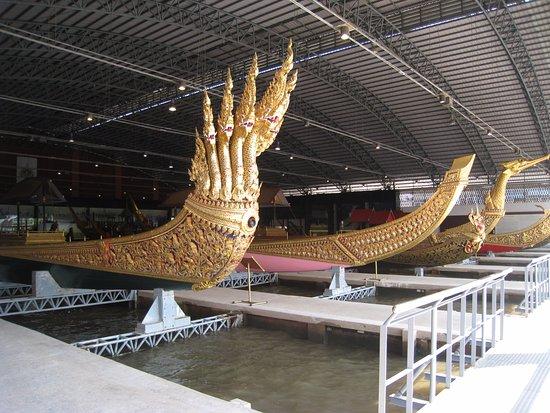 Hanuman figurehead - Picture of Royal Barges National Museum, Bangkok - TripA...