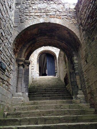 King's Lynn, UK: Entrance stairs