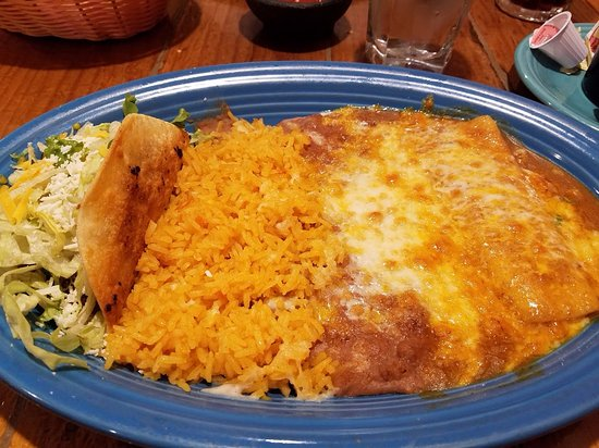 Miguel's Mexican Food: My plate of delisiousness