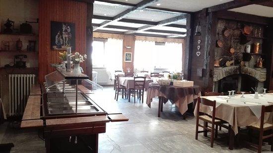 Saint Nicolas, Italia: ristorante