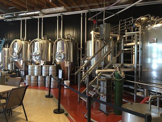 Sauk Rapids, MN: beer vats