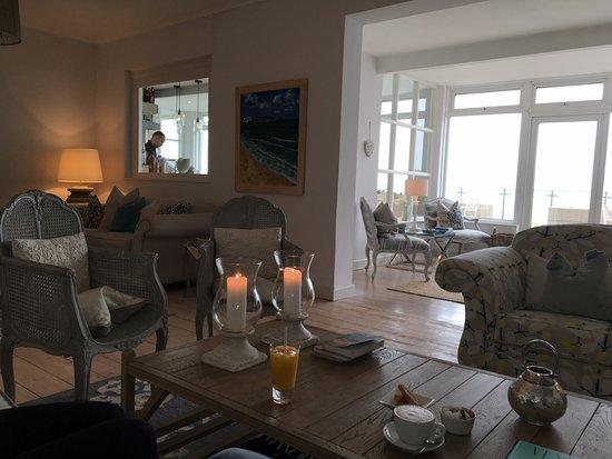 Boskerris Hotel: Lounge area
