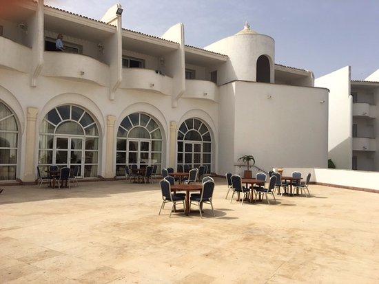 Terrasse Du Restaurant Italien Picture Of L Amphitrite Palace