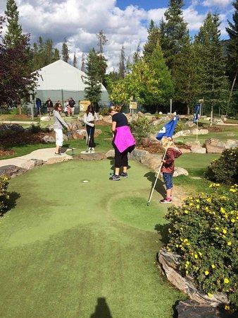 Panorama, Canadá: mini golf