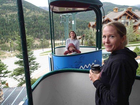 Panorama, Canada: gondola